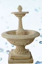 Fountain for the Garden Powder of Marble Diameter M 1,1 x H M 1,6