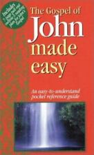 Gospel of John Made Easy (Bible Made Easy) Water, M. Paperback Book LikeNew