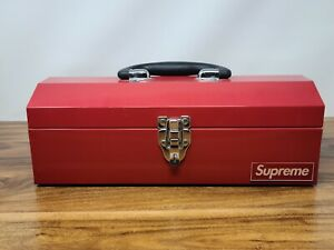 Supreme Metal Tool Box F/W 2014 Clean and Rare