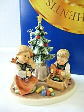 "Rare Goebel Hummel ""Christmas Morning� #2263 • Tmk8 • Le Of Only 4,000 !"