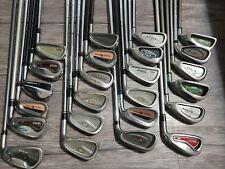 24 golf club lot irons titleist TaylorMade Cobra Callaway cleveland+ more lot 2