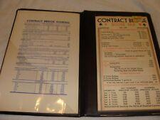 Vintage Contract Bridge score pad
