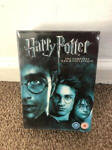 Harry Potter Collection - Years 1-7B  (DVD, 2011, 8-Disc Set, Box Set) New