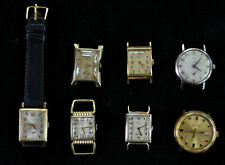 Blowout Lot of 7 Lord Elgin Mens Watches Some Better Models All Running CHEAP