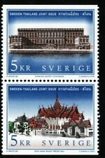 Sweden 2002  Royal castles. Joint issue with Thailand. Engraver Slania. MNH