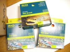 3 Rio Gold & Grand fly fishing lines new in box - batch #12