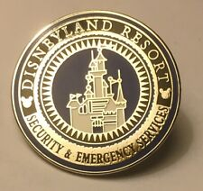 Disney Disneyland DLR - Cast Member Security & Emergency Services Pin 77030