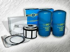 7.3L TURBO DIESEL 2 OIL FILTERS & 1 FUEL FILTER (NO CAP) KIT FOR FORD - AMAZING