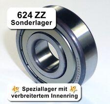 4 Stk. Kugellager 4,1*13*5,3mm Da=13mm Di=4,1mm Breite=5,3mm 624ZZ Radiallager