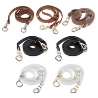 125-135cm Adjustable Leather Shoulder Crossbody Bag Strap Handle Replacement