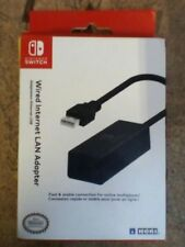 Nintendo Switch LAN Adapter Internet Connection Wired Online Gaming Hori <<<==>>