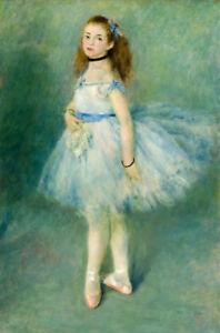 The Dancer by Pierre-Auguste Renoir 60cm x 40cm Art Paper Print