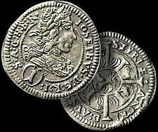 Emperor JOSEPH I / HABSBURG - HUNGARY SILVER 1 Kreuzer Coin 1709 AD +COA GGcoins