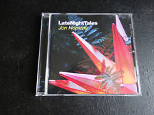CD JON HOPKINS - LATE NIGHT TALES / excellent état