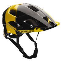 661 SixSixOne Evo Am Tres Helmet (CPSC) - BLACK /YELLOW - (CLOSEOUT) _7160-36