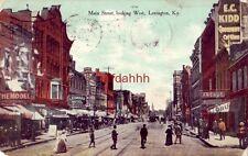 1909 MAIN STREET LOOKING WEST, LEXINGTON, KY Leonard Hotel for Gentlemen