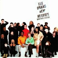 THE BRAND NEW HEAVIES brother sister (CD, album) acid jazz, very good condition,