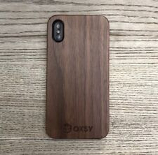 iPhone X / iPhone 10 Wooden Walnut Case | OXSY