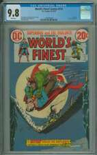WORLD'S FINEST COMICS #214 CGC 9.8 WHITE PAGES