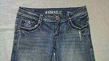 Women's Hydraulic Blue Jeans Pants Size 9/10 Boot flare Metro Low rise
