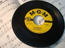 """Mark Dinning - YOU THRILL ME / DO YOU KNOW 45 rpm 7"""" vinyl record VG"""
