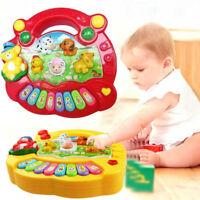 1Pc baby kids musical educational piano animal developmental music toys gi`
