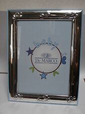 Cornice portafoto argento silver frame De Marco 13x18 bambino bimbo sterling