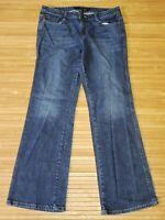 Calvin Klein Jeans Size 31/12 Womens Lean Boot Cut Flap Pocket
