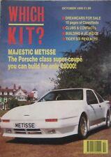 Which Kit? magazine 10/1990 featuring Griffon, GTM, Rickman Metisse, Madison