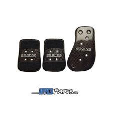 Sparco Universal Carbon Fiber Pedal Set for Manual Transmission Vehicles