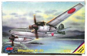 Mitsubishi Ki-83 1/72 MPM 72088 Rare!!