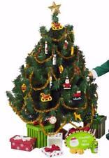 "18"" Girl Doll Night Before Christmas 2 Set Lot Tree Ornaments Gift Set American"