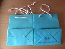 1 ONE Tiffany &Co Blue Paper Gift Bag