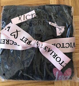 Victorias Secret M Sleep Tee $49 Dress Shirt Top Love NWT Gift Bow
