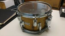 Custom 10-inch 6-lug Snare Drum - wood grain
