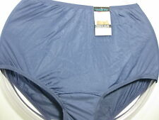 Vanity Fair Perfectly Yours Ravissant Tailored Brief Blue Panty, Size 6 M