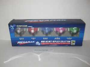 Capcom Megaman Mini Helmet Replica Collection San Diego Comic Con SDCC 2015 Excl