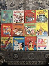 TWELVE Vintage Tell-A-Tale Children's Books 1960's And 1970's