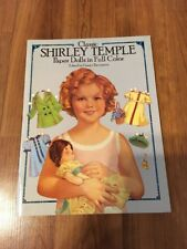 Paper Doll Book Classic Shirley Temple New Uncut Mint