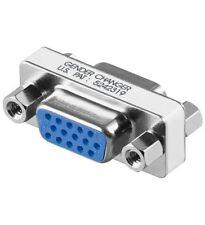 Gender Changer Adapter Kupplung D-SUB 15 pol. HD Buchse auf 15 pol. HD Buchse