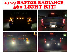 Ford Raptor Rigid Radiance 360 fog light Kit W Brackets LED F-150 2017-2019 2018
