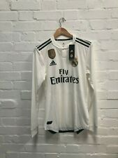 adidas Real Madrid CF Men's 2018/19 ClimaChill Home Shirt - S - ZIdane 9 - NWD
