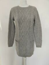 NEW PRIMARK Womens Long jumpers Grey Size XS