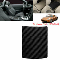For Nissan 350Z 2006-2009 Car Central control storage box Carbon Fiber Sticker
