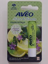 Aveo Lippenpflege Stift MINZE & LIMETTE Limited Edition Shine & Gloss 4,8g
