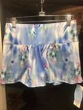 Lucky in Love tennis skirt Floral Fantasy Pockets Skirt - Small