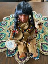 Vintage Native American Indian Little Foot Doll Preowned Excellent Condition