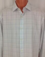 Banana Republic Plaid Cotton Long Sleeve Button Front Shirt Men's Large L ~ EUC