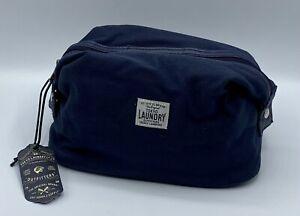 Tokyo Laundry Tate Kulturtasche Kosmetik Tasche Waschtasche 1W12495 blau **NEU**