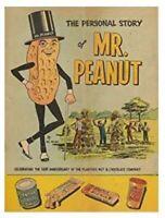 MR PEANUT TIN SIGN PLANTERS ADVERTISEMENT VINTAGE LOOK RUSTIC RETRO AD POSTER